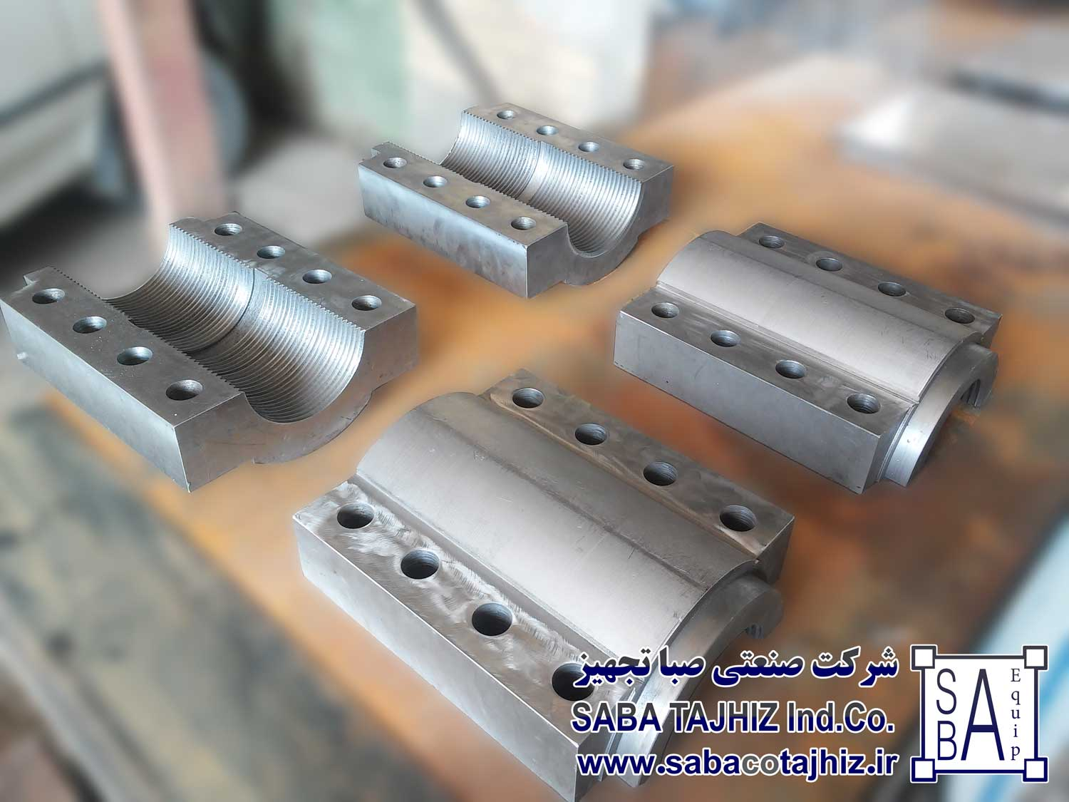 Raw Mill Jack Clamp