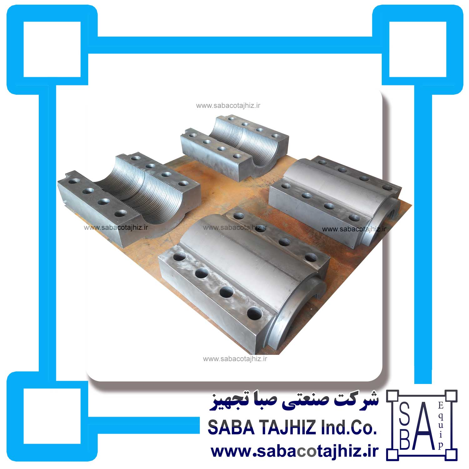 Cement Raw Mill Jack Clamp Contact Coupling