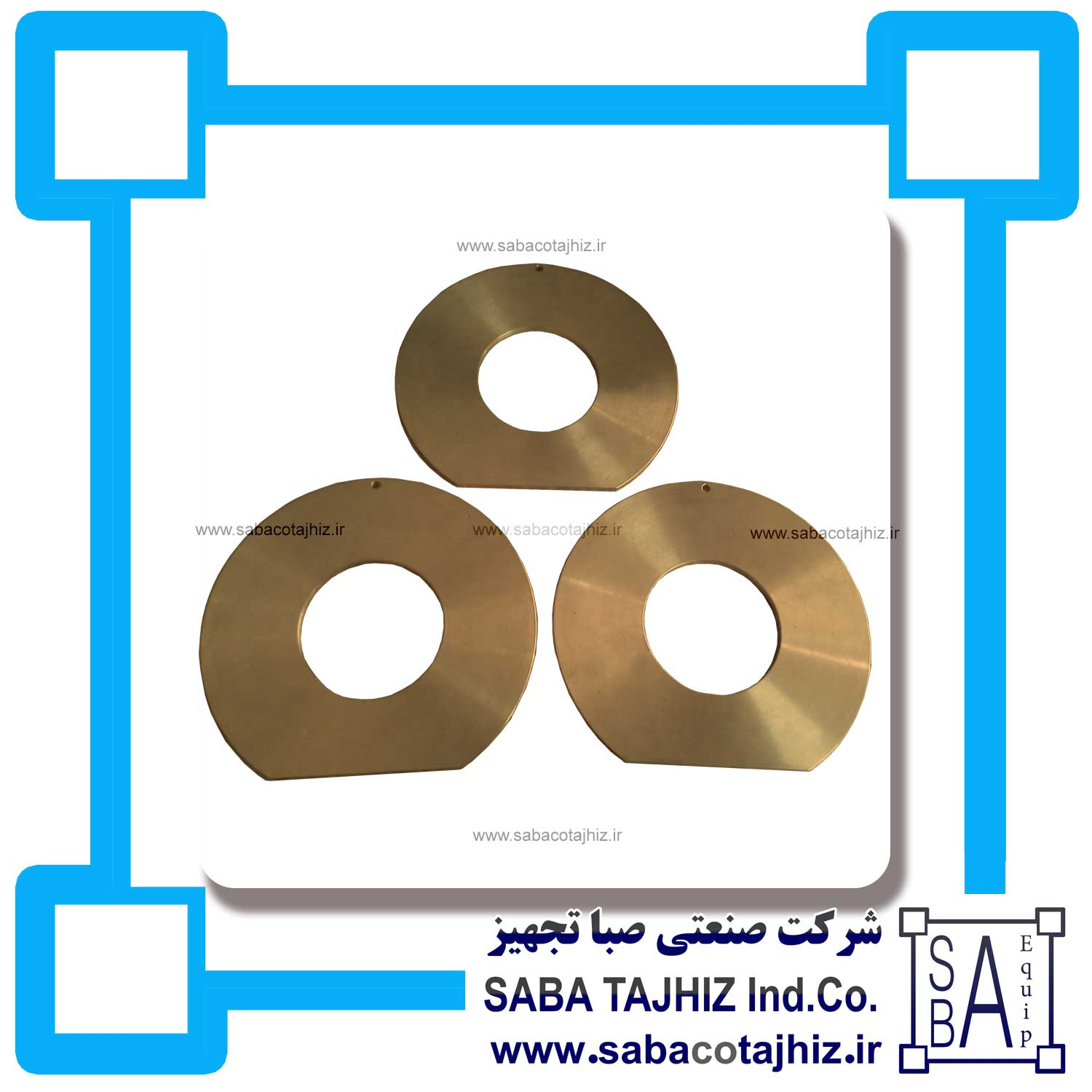Insulation Plant Barss Washer Disk